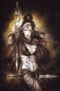 Luis Royo Warrior Girl