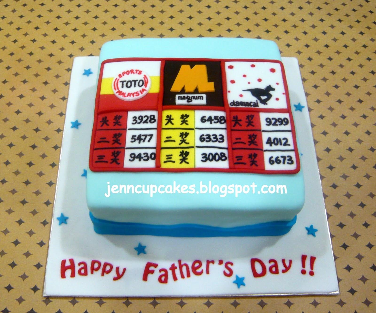 Jenn Cupcakes & Muffins: Magnum Toto Cake