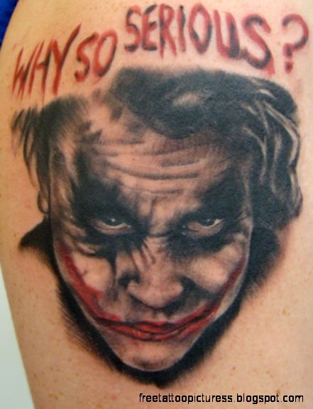 joker tattoo on face meaning 2015  TATTOO PICTURES