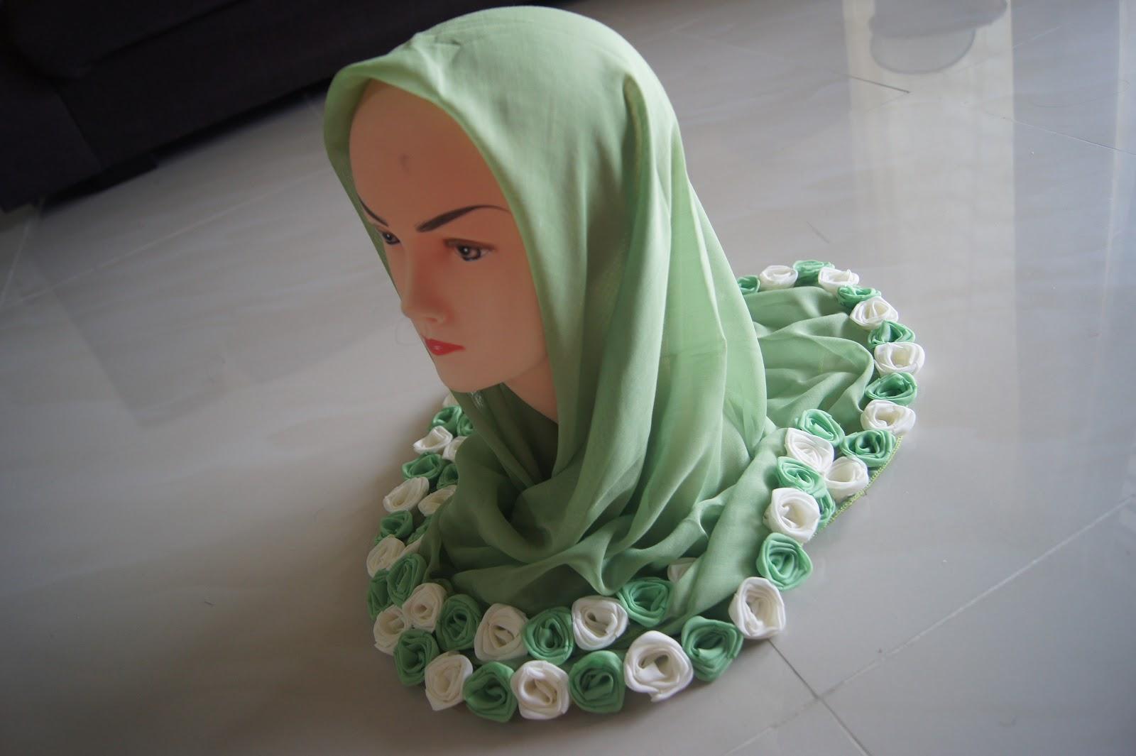 kedai lalaland new tudung roses