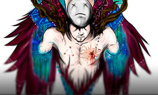 Ilustración, Hearts de Stiven Mesa aka Caym Jaeger