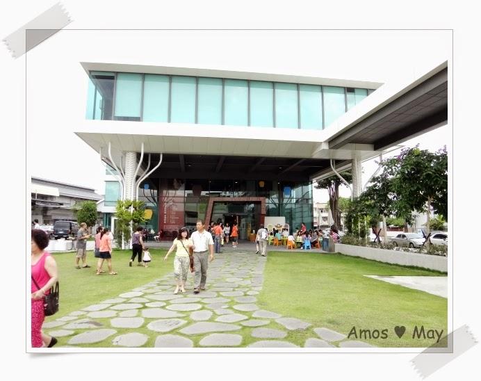 台南景點推薦-黑橋牌香腸博物館-人工草皮