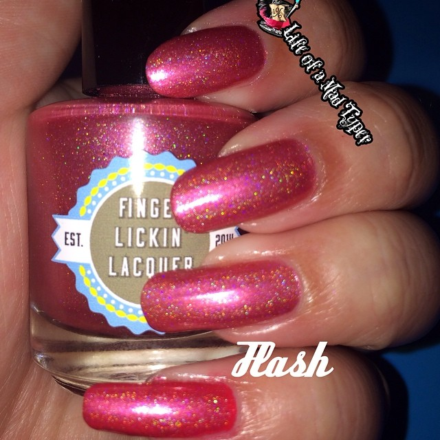 Finger lickin Lacquer Cherry Pie