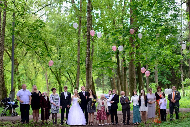 vestuviniai helio balionai