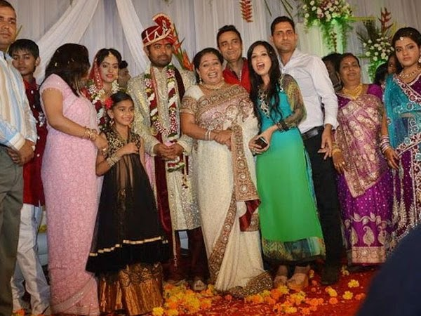 Wedding Images of Deepika Singh With director Rohit Raj Goyal Family Images