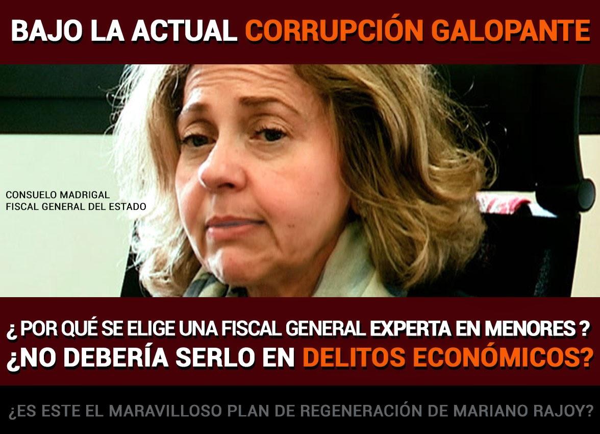 Consuelo Madrigal Fiscal General del Estado