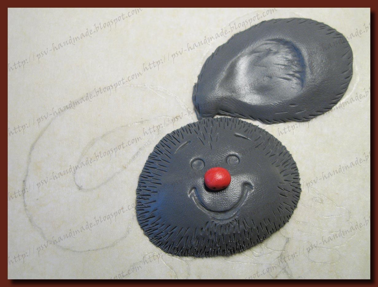 мастер-класс лепка зайчика из полимерной глины