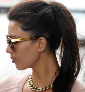 Kim-Kardashian-Initial-Stud-Earrings