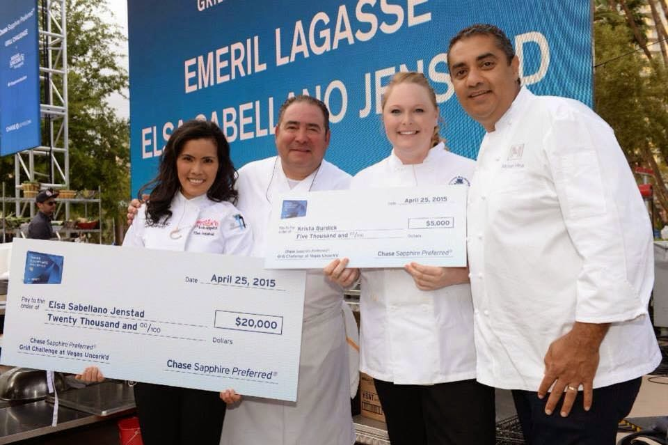 Chase Sapphire Preferred Grill Challenge 2015 winners