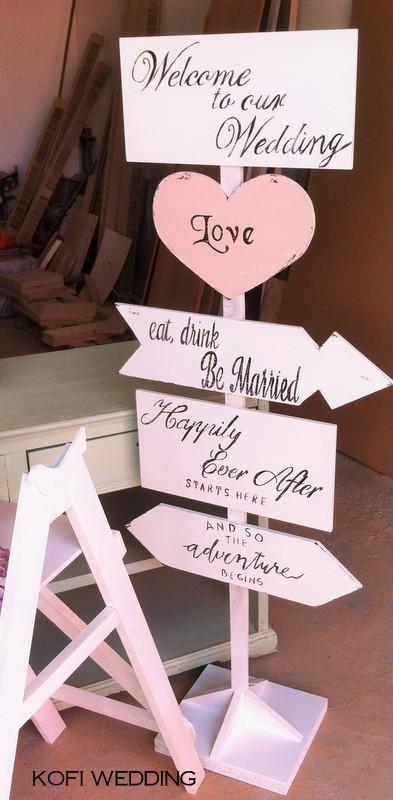 Placute/Sageata/Indicator nunta