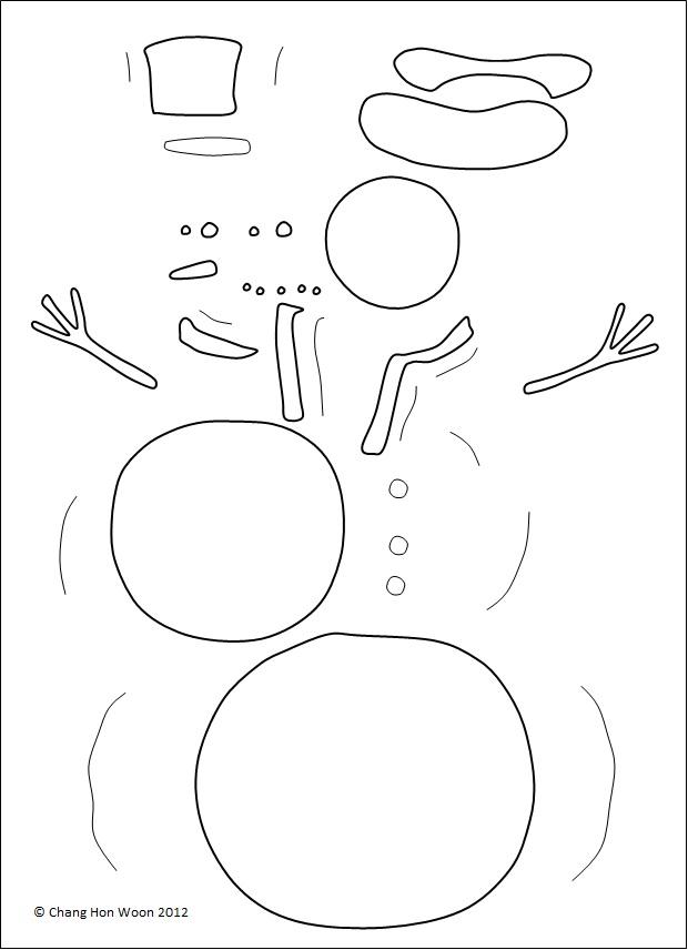 Drawings Of Snowmen | New Calendar Template Site