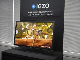 Monitor 4K Sharp Teknologi IGZO, Sharp PN-K322B