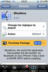 تحميل تنزيل برنامج بلوتوث الايفون iBlueNova Download Free Direct برابط مباشر