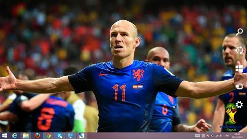Holland Fifa World Cup 2014 Theme For Windows 7 And 8 8.1