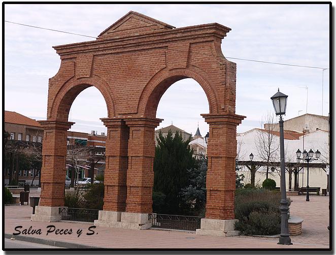Arcos de ladrillo visto affordable todava quedar realizar otro arco ms donde ir colocada la - Arcos de ladrillo rustico ...