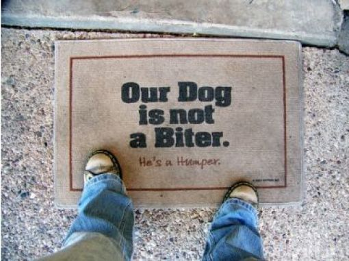 ... As It Gets. A Friend Recently Sent Me An Email With A Bunch Of Funny  Doormats, And I Thought I Would Share Some Of The Best Ones With You Today.  Enjoy.