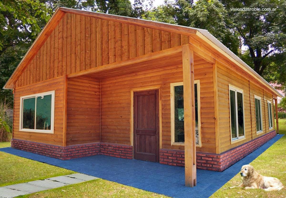 Arquitectura de casas viviendas prefabricadas en argentina for Prefabricadas madera