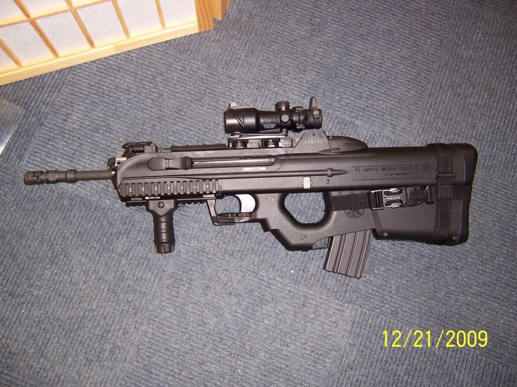 GUN MANIAC: FN F2000 ASSAULT RIFLE
