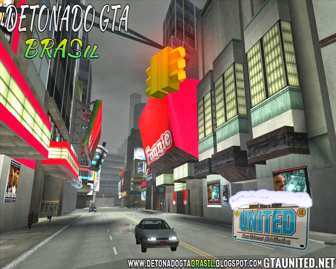 GTA United 1.2 (GTA San Andreas + GTA Vice City + GTA III)