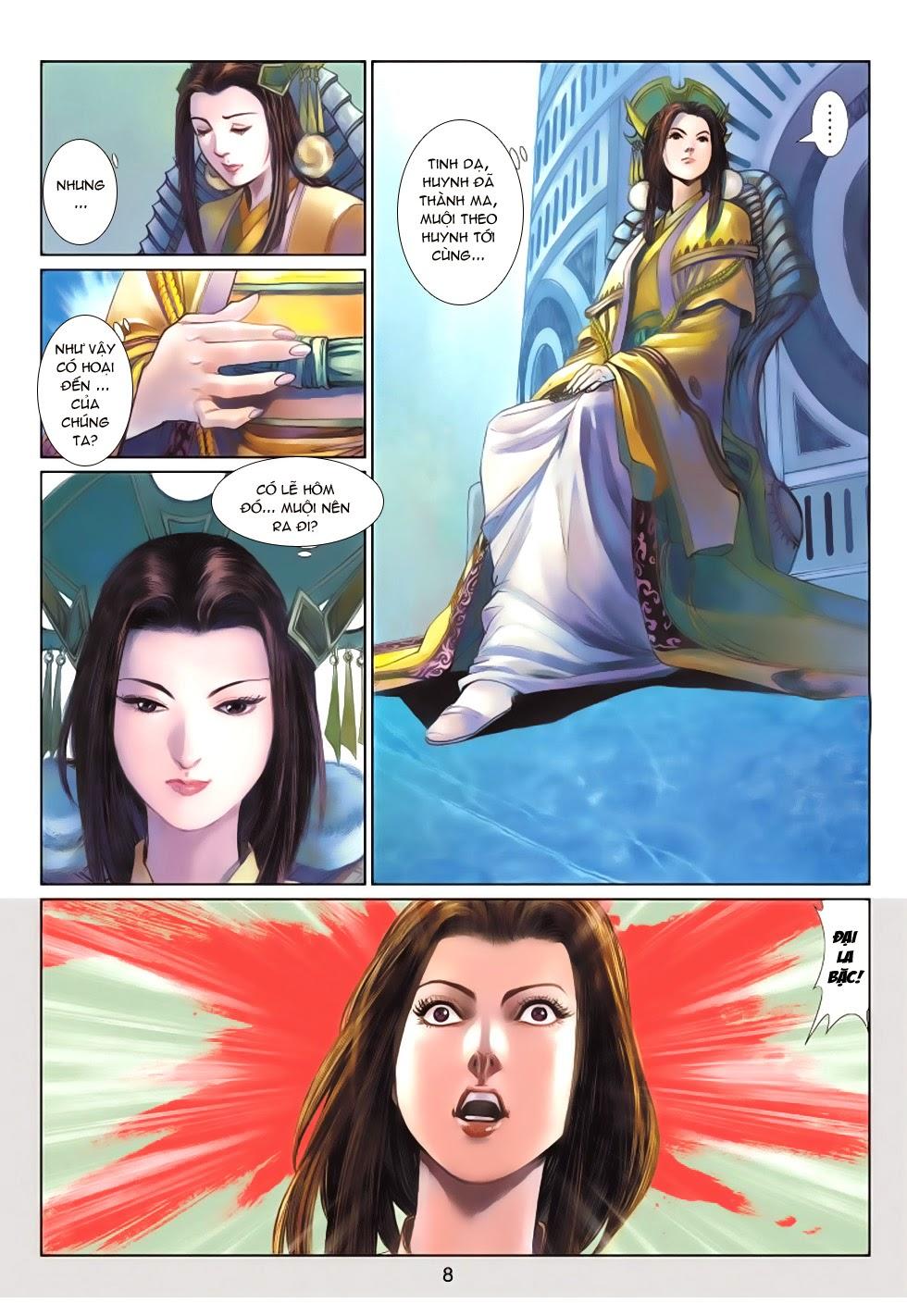 Thần Binh Tiền Truyện 4 - Huyền Thiên Tà Đế chap 13 - Trang 8