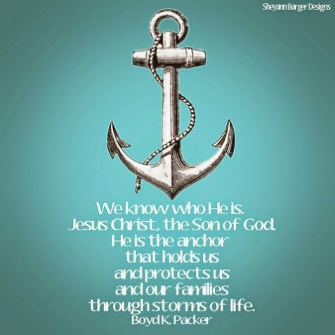 He is the Anchor