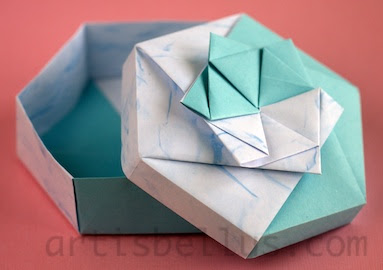 Origami Boxes: Star Box