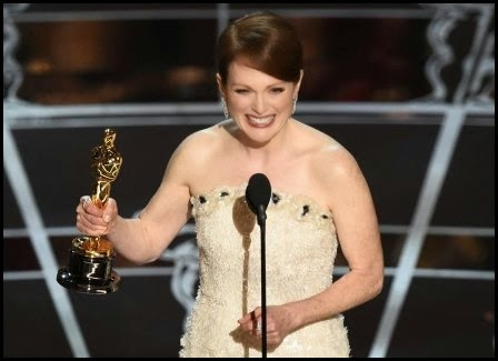 Oscars 2015: Julianne Moore (mejor actriz por 'Siempre Alice')