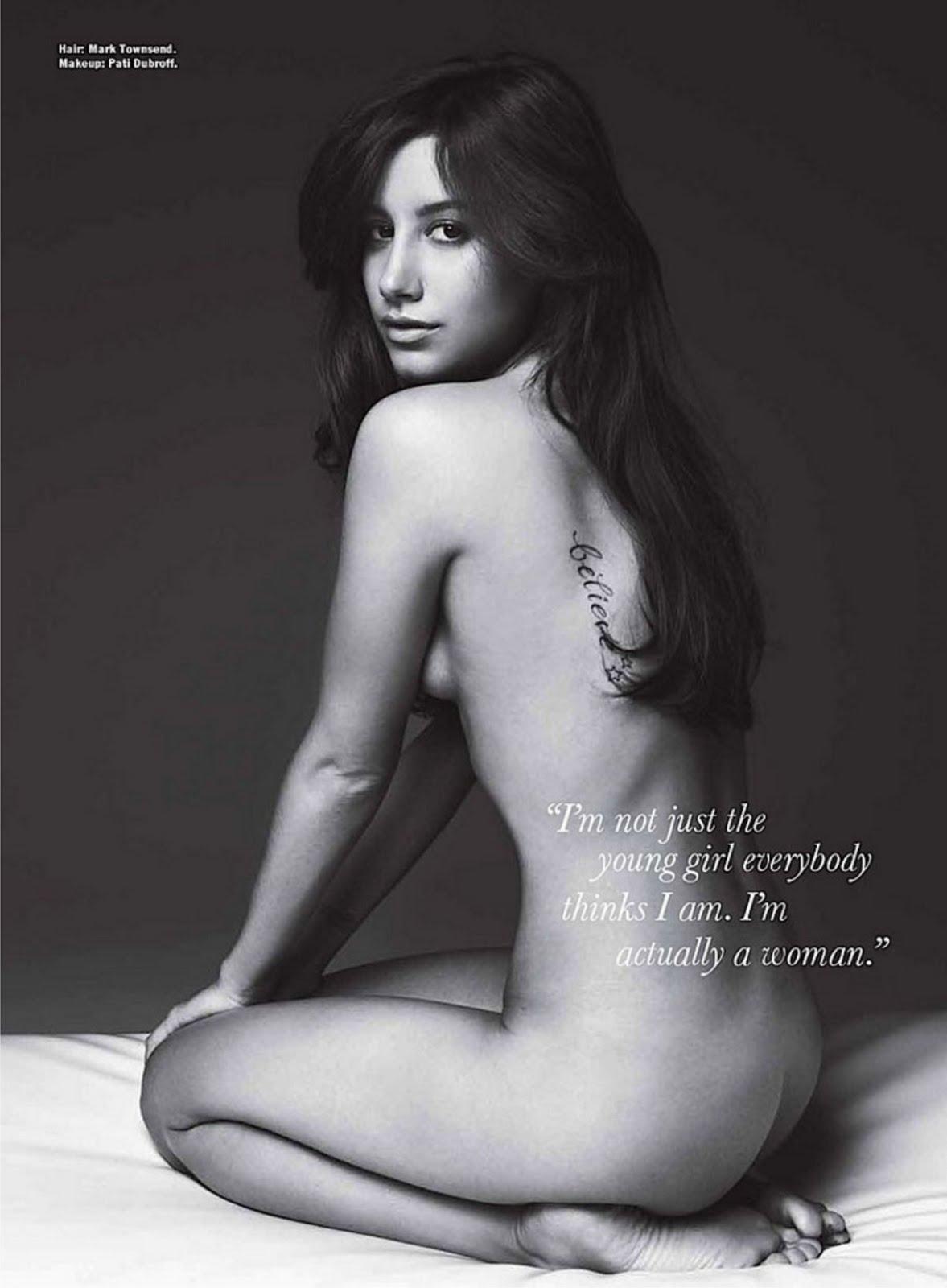 naked Ashley uncencored tisdale