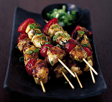 blue flamingo kebabs