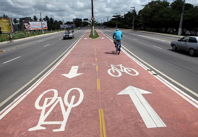 Como anda a malha cicloviária em algumas capitais brasileiras