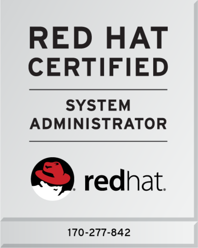 Red Hat  Certified System Administrator (RHCSA)