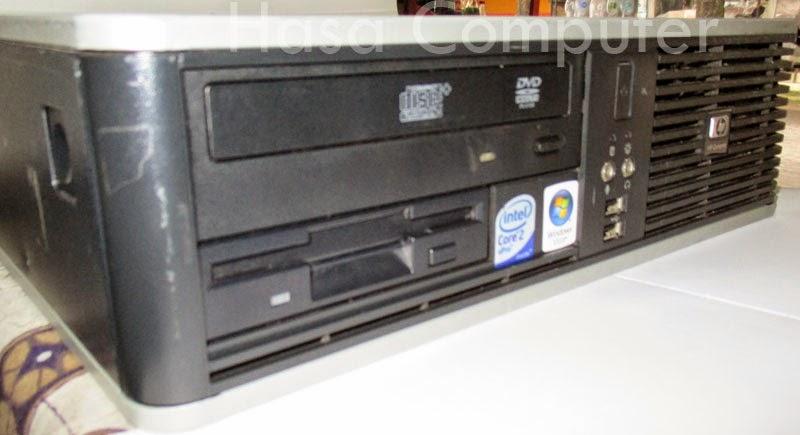 HP Compaq dc7800 tampak samping kanan