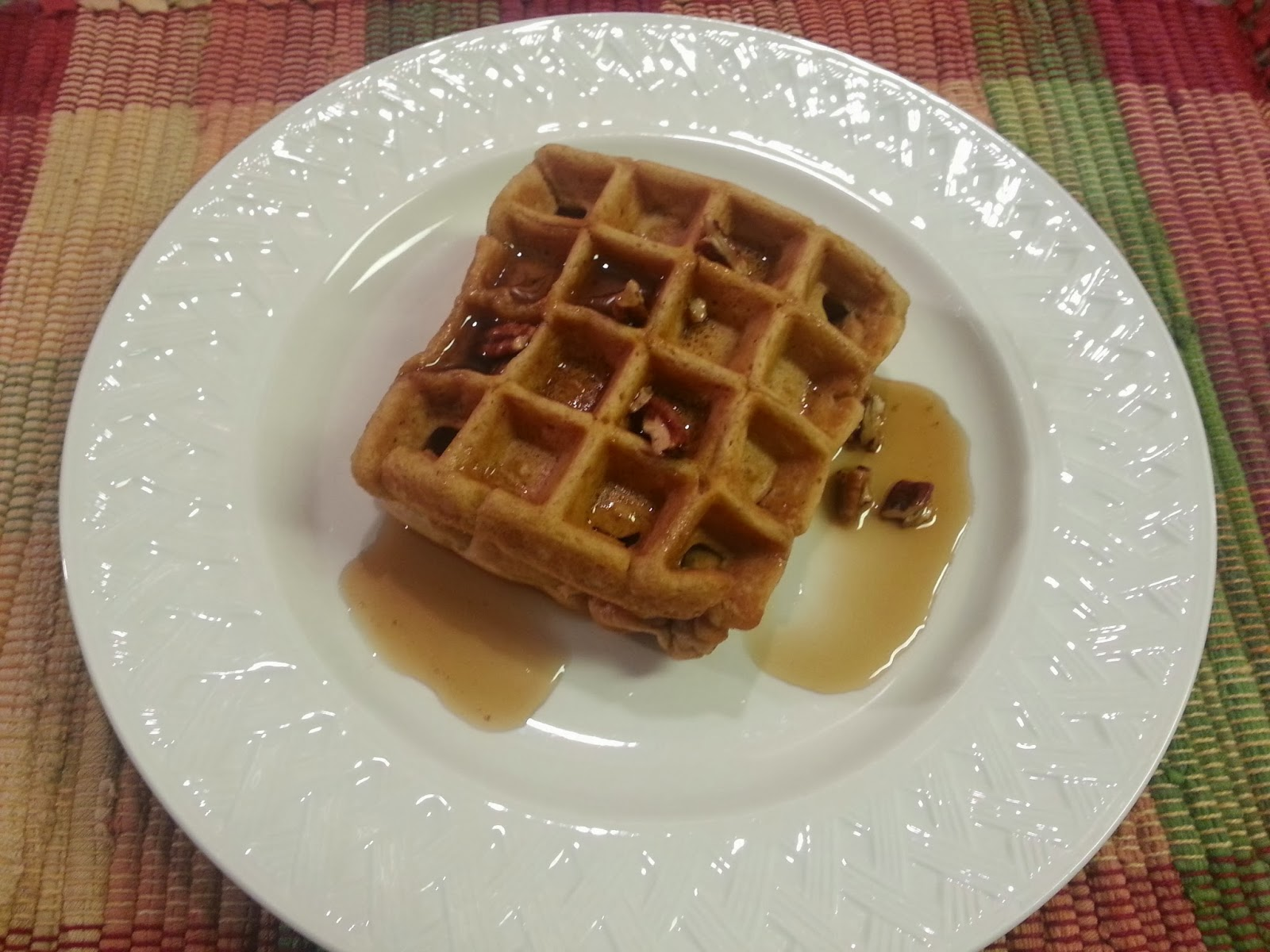 Project Soiree: Tasty Tuesday: Apple Cider Waffles