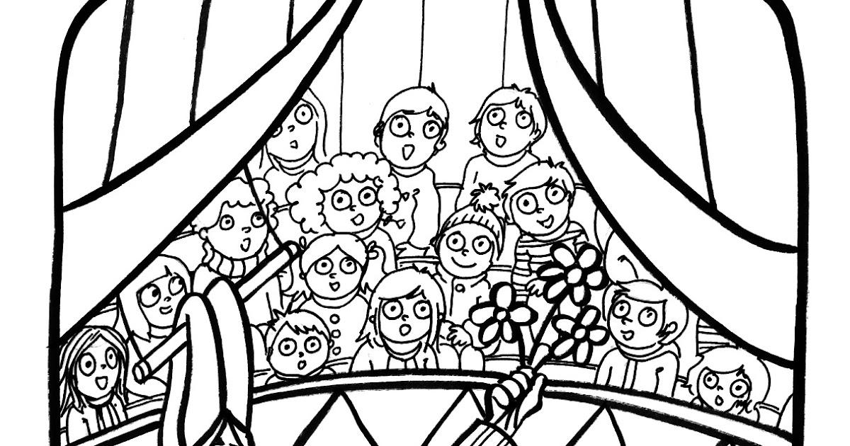 Marion de castillon coloriage du mercredi au cirque - Coloriage de cirque ...