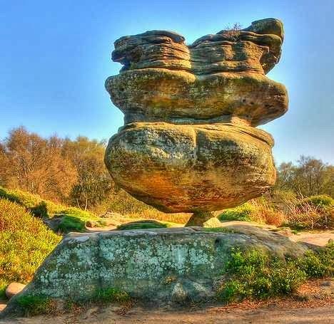 Idol Rock, Brimham Moor, North Yorkshire, UK