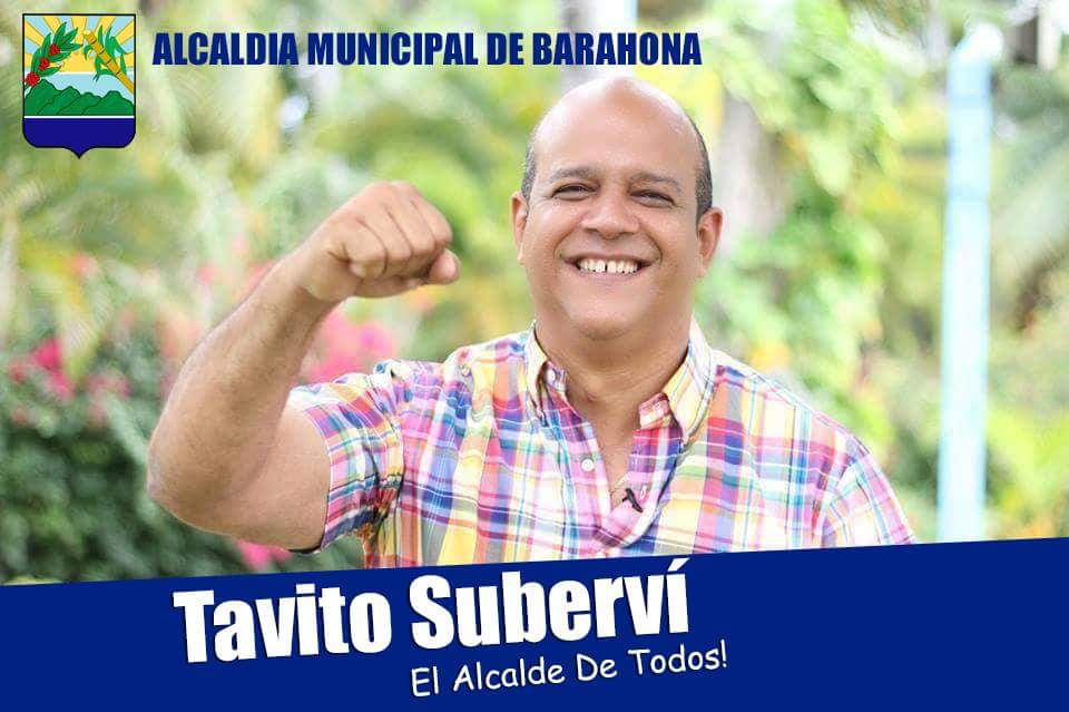 NOEL OCTAVIO SUBERVI NIN, ALCALDE DE SANTA CRUZ DE BARAHONA 2016-2020