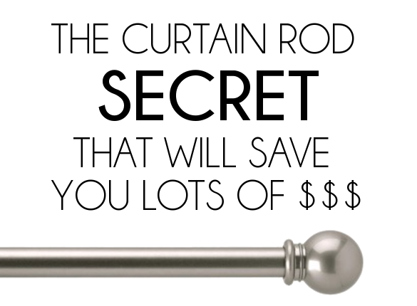 Curtain Rod Secret