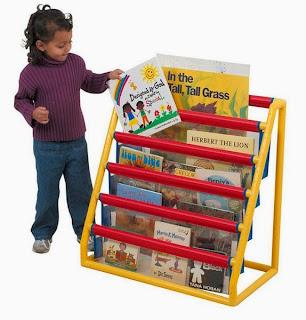 Childrens Plastic Bookcase