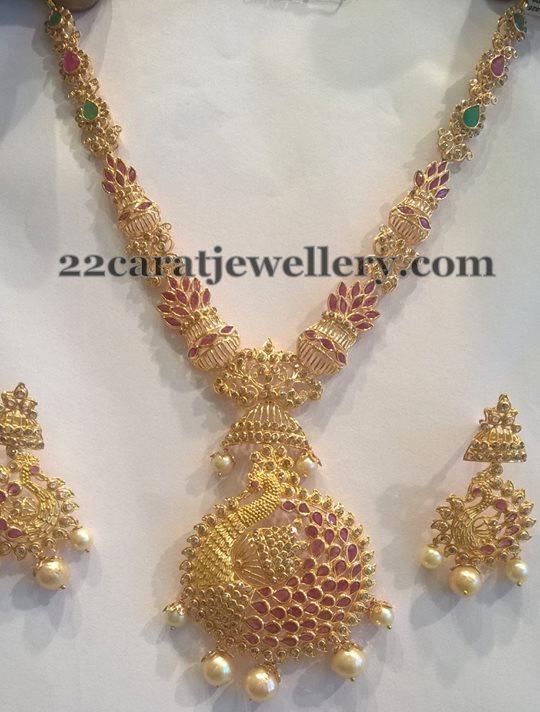 Uncut Diamond Medium Size Necklace