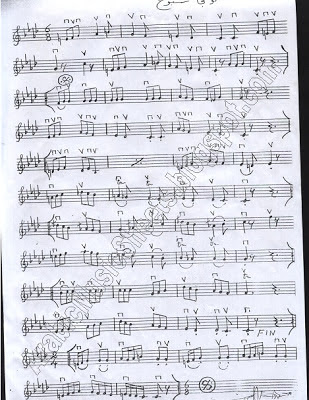 """ Longa Sabokh "" Music Sheet"