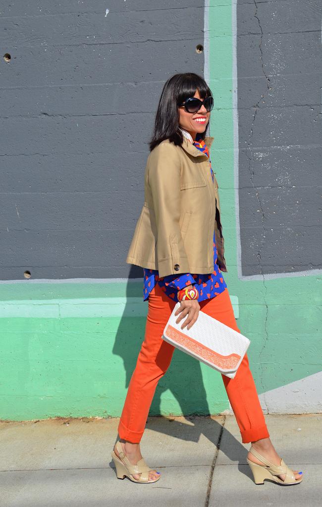 Orange Pants Trend