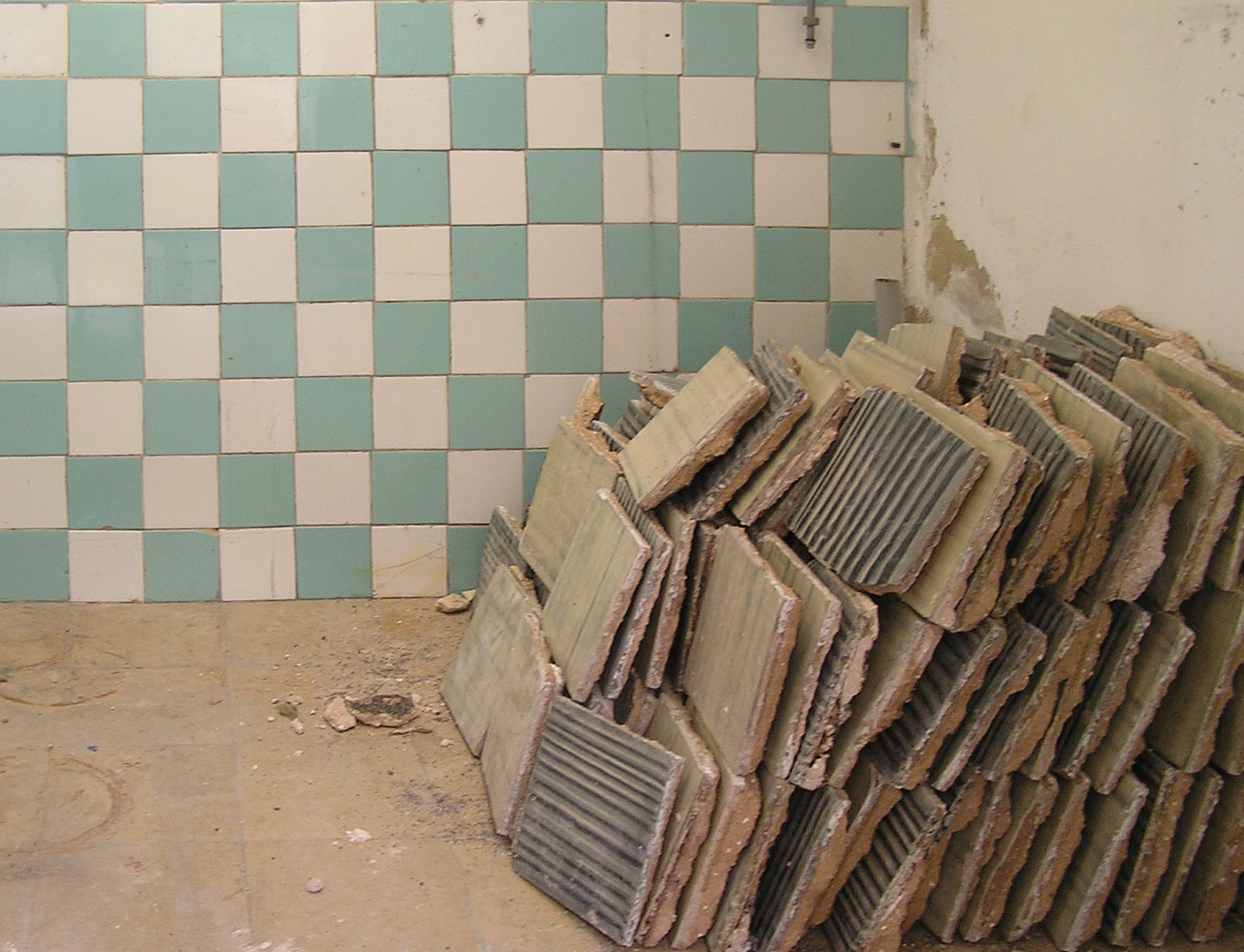 la casa habitada...: recuperación baldosas hidráulicas