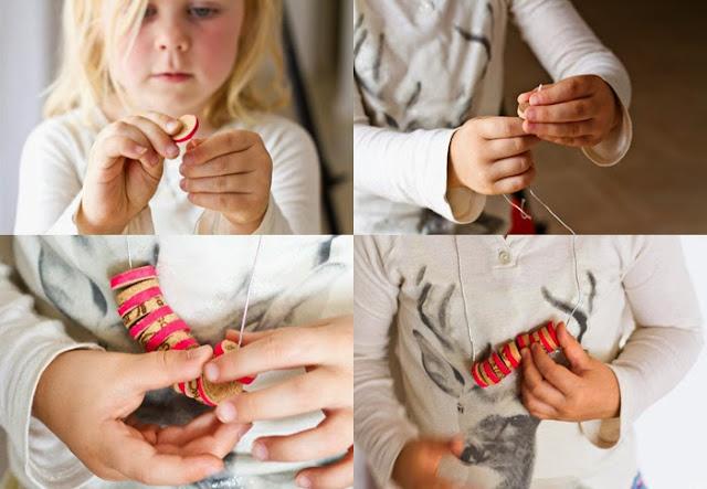 DIY collares con corchos, Cork Necklace