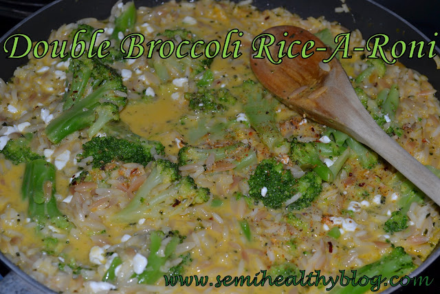 Rice-A-Roni Three Ways - Diary of a Semi-Health Nut