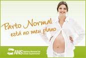 Agência Nacional de Saúde apoia o parto normal!
