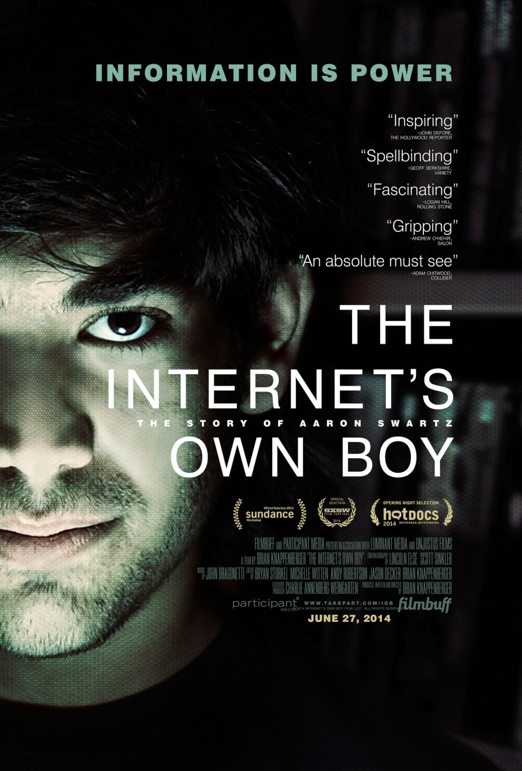The Internets Own Boy The Story of Aaron Swartz – Legendado