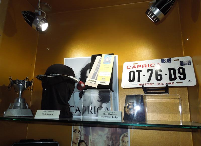 Caprica TV props