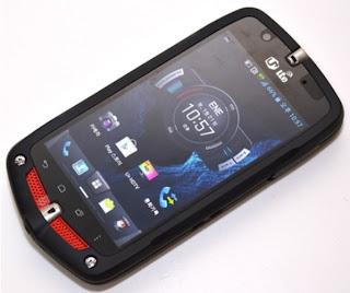 NEC Casio G'Zone CA-201L, Smartphone Canggih besutan LG Uplus