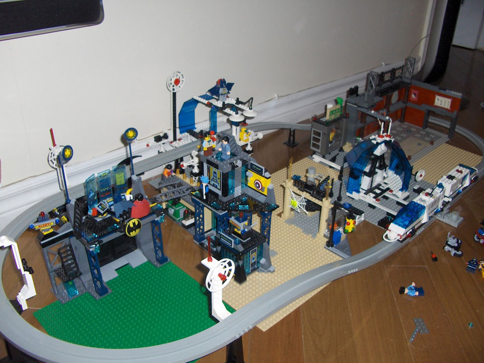 Lego City Batcave The Lego City is More Logical