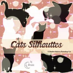pinceles de gatos